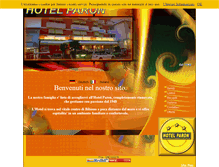 Tablet Preview of hotelparon.it